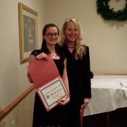 December 10, 2013: Miranda Evarts wins 99's Dodie Riach Scholarship