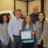 January 2018 Sophia Wins EAA Scholarship